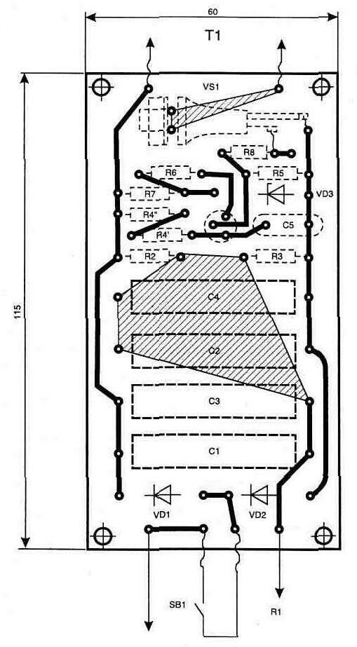 Схема электрическая принципиальная на бормашину электрическую зуботехническую настольную бэзн-01