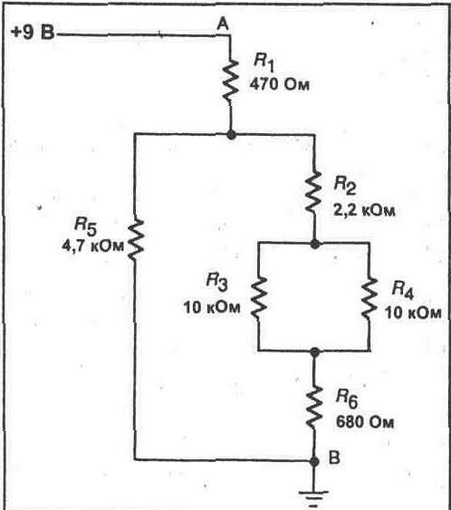 ЭКСПЕРИМЕНТ 6 Комбинация последовательных и параллельных схем.